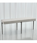 Lila Bench Large | Natural Iron