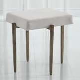 Lila Bench Small | Antique Gold