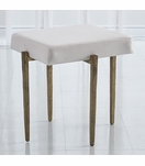 Lila Stool | Antique Gold