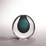 Limon Artist Glass Vase | Azure