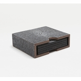 "Lina ""Shagreen"" Coaster Set 