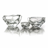 Lingo Glass Bowls | Clear