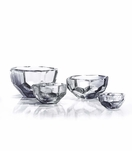 Lingo Glass Bowls | Light Grey