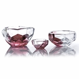 Lingo Glass Bowls | Purple