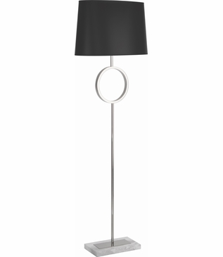 Liza Floor Lamp | Nickel