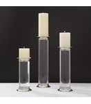 Lizzo Lucite Candleholders