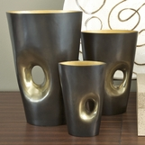 Lookout Bronze Vases