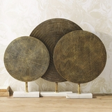 Lorena Disc Sculptures Set