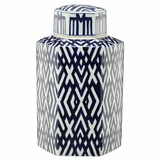 Louisa Porcelain Jar | Hexagonal