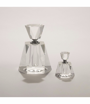 Lovisa Glass Perfume Bottles | Hexagon
