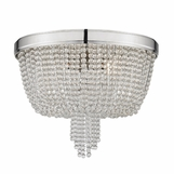 Lowe Flush Mount | Nickel