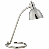 Luca Task Lamp | Polished Nickel