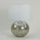 Lydia Silvered Glass Lamp