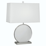 Lynette Lucite Table Lamp | Polished Nickel