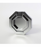 Machina Faceted Ring Pulls | Chrome & Nickel