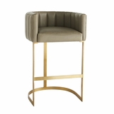 Madsen Leather Bar Stool