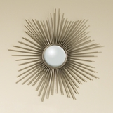Majestic Sunburst Small Mirror | Nickel