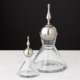 Majesty Glass Decanters | Nickel