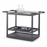 Maka Bar Cart | Black Oak
