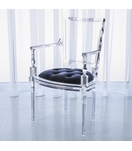 Marilyn Lucite Armchair | Blue