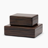 Marist Macassar Ebony Boxes Set