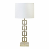 Marlo Lamp | Warm Silver