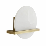 Massino White Onyx Sconce