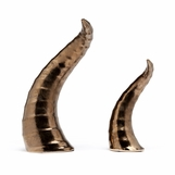 Mattie Ceramic Horns Set