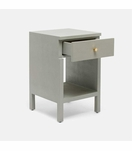 "Maura Narrow ""Linen"" Side Table 