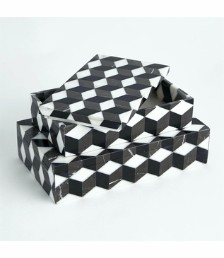 Maurits Marble Boxes