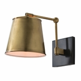 Maury Sconce | Antique Brass