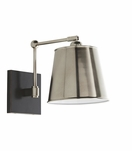 Maury Sconce   Antique Silver
