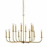 Maven Chandelier | Brass