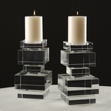 Maximo Crystal Candleholder