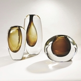 Maya Glass Vases | Amber