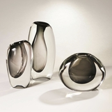 Maya Glass Vases | Smoke