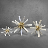 Mazzy Selenite Starburst Sculptures