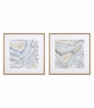 Meagher Abstract Prints | Set of 2