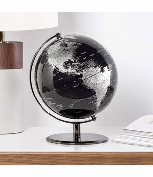 Meridian World Globe | Black