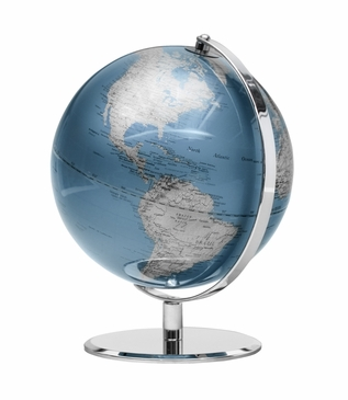 Meridian World Globe | Blue
