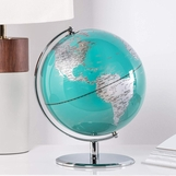 Meridian World Globe | Teal