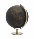 Meridian World Globe | Vintage Black