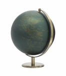 Meridian World Globe | Vintage Green