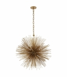 Meteor Medium Chandelier | Gold