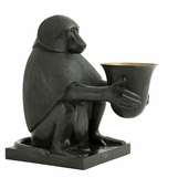 Midas Bronze Monkey Lamp