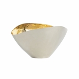 Millie Hammered Metal Bowl | Small
