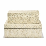 Mindi MOP Boxes Set | Cream