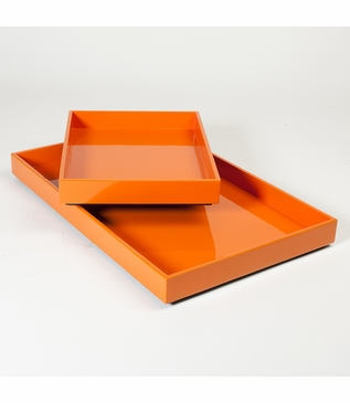 Ming Large Tray | Orange