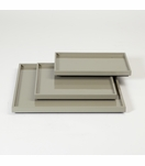 Ming Shallow Trays | Grey