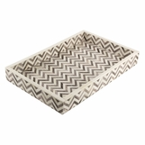 Minti Bone Tray | Grey